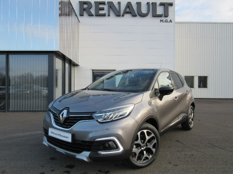 Renault CAPTUR TCE 120 ENERGY INTENS EDC + CAMERA Essence GRIS CASSIOPE Occasion à vendre