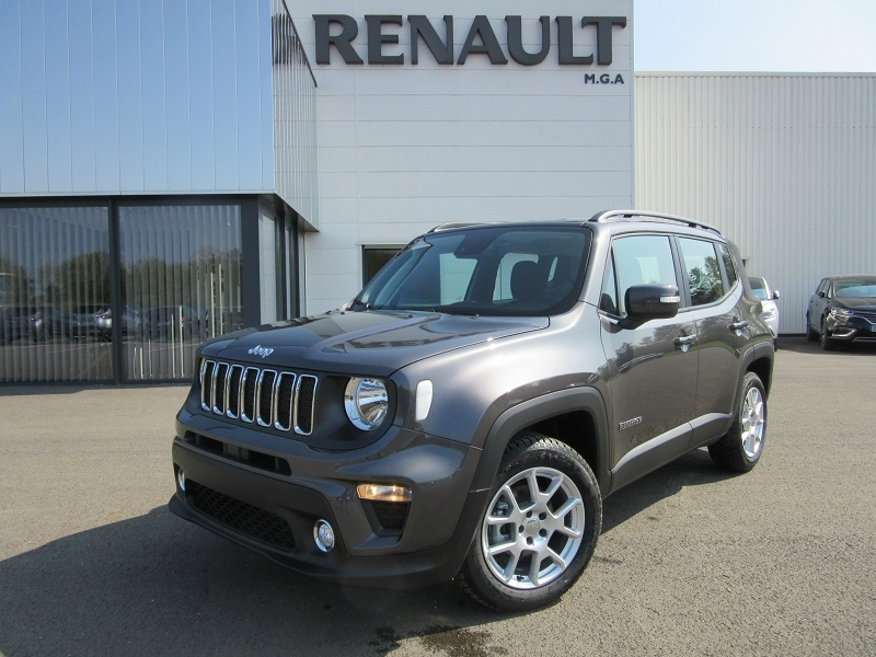 Jeep RENEGADE 1.0 GSE T3 120CH LONGITUDE BUSINESS Essence GRIS Occasion à vendre