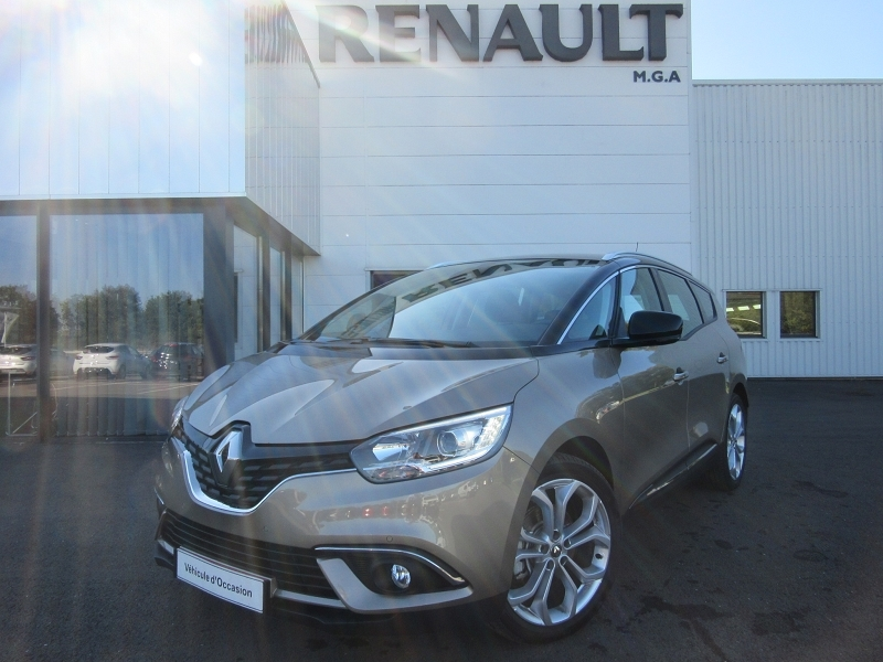 Renault GRAND SCENIC IV TCE 140 ENERGY BUSINESS 7 PLACES Essence BEIGE Occasion à vendre