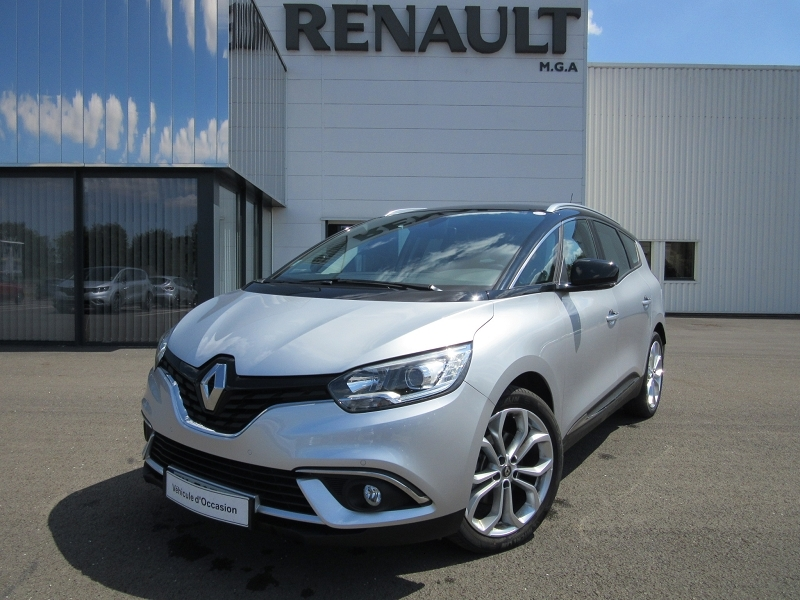 Renault GRAND SCENIC IV 1.5 DCI 110CH ENERGY BUSINESS 7 PLACES Diesel GRIS PLATINE Occasion à vendre