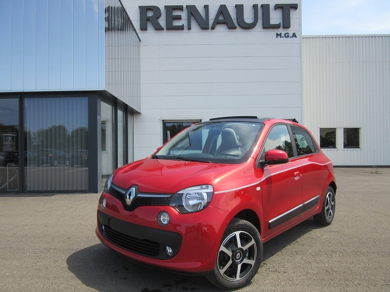 Renault TWINGO III SCE 70 S&S INTENS GPS TOIT OUVRANT Essence ROUGE Occasion à vendre