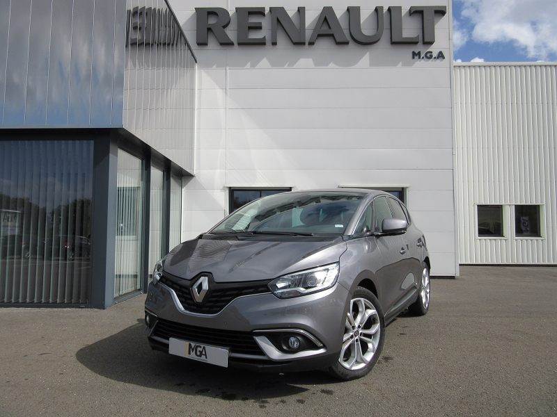 Renault SCENIC IV 1.3 TCE 115CH FAP BUSINESS Essence GRIS CASSIOPE Occasion à vendre